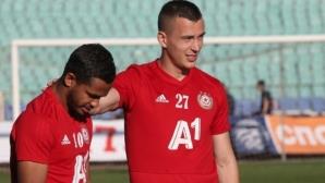 Секулич не тренира с ЦСКА-София