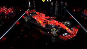 Ферари представи новия претендент за титлата във Формула 1