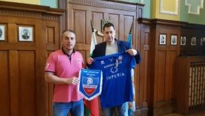 Босът на Спартак Пд се видя с кмета на Пловдив, взима базата към края на май
