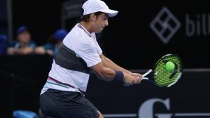 Андреев е на 1/4-финал в Анталия