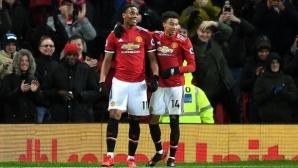 Проблеми за Юнайтед: Марсиал и Лингард пропускат мачовете с Челси и Ливърпул