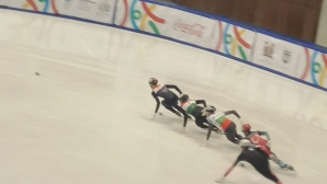 Пето място за Любомир Калчев в шорттрека на олимпийския фест в Сараево