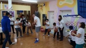 Вълци-Разград проведоха тренировка в център за социална рехабилитация и интеграция