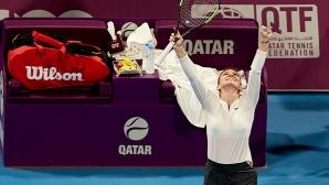 Халеп надви Свитолина в Доха, ще играе на финала срещу Елизе Мертенс