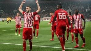 Олимпиакос с гръмка победа в дербито срещу АЕК