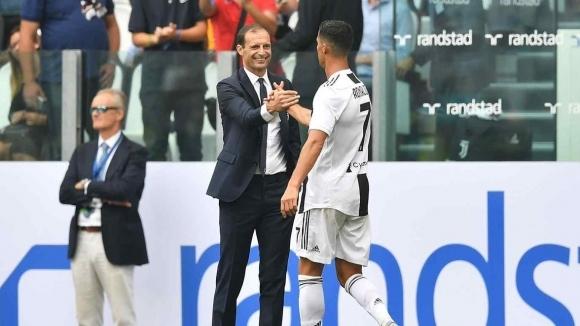 Алегри: Роналдо не ни гарантира спечелване на Шампионската лига
