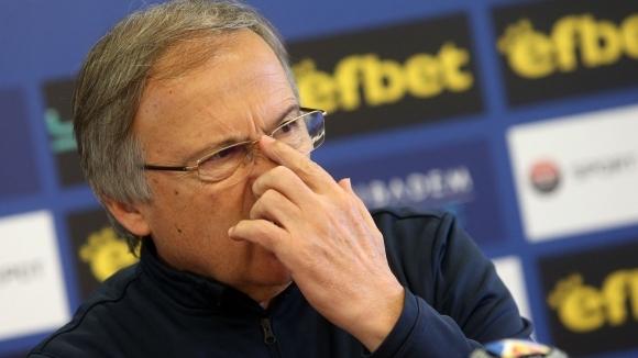 Георги Дерменджиев: Между кои е това дерби? Все още има напрежение в отбора