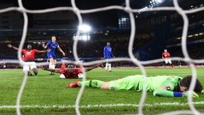 Челси - Ман Юнайтед 0:2, Погба с гол и асистенция (гледайте на живо)