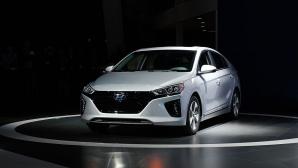 Hyundai Ioniq Electric със злато при еко автомобилите