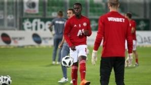 Едвин Джеси: Играя за най-големия отбор в България