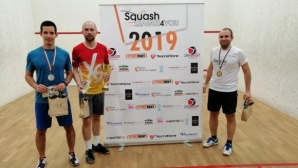 86 състезатели участваха в първия кръг на Squash League 4 You 2019
