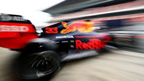 Според слухове, Ред Бул имат прекомерни вибрации с двигателя Хонда