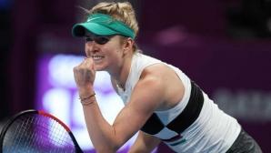 Двукратната шампионка Свитолина се класира за четвъртфиналите в Дубай
