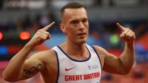 """Ричард Килти се оказа """"специален случай"""" и ще защитава европейската си титла на 60 метра"""