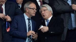 Президентът на Атлетико: Кристиано няма пет Шампионски лиги, а три