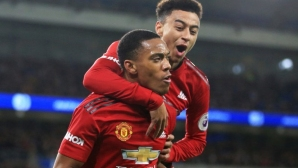 Изненада от лагера на Юнайтед: Лингард и Марсиал може да играят срещу Ливърпул
