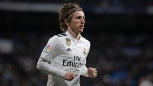 Модрич пред нов договор с Реал Мадрид