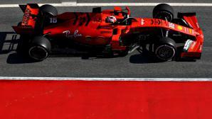 Според данните на Пирели Ферари бяха най-бързи в Барселона