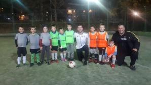Португалски треньор от GPS/Valencia на посещение в Барокко спорт