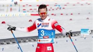 Шур Рьоте спечели световната титла в скиатлона на 30 км (видео)