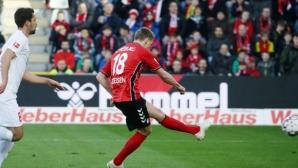 Фрайбург разби Аугсбург с 5:1