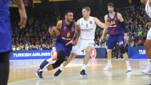 Барселона победи Реал Мадрид в баскетболното Ел Класико от Евролигата