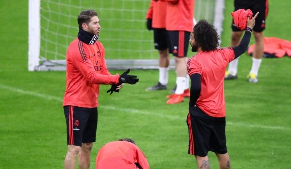 """Рамос и Марсело са се сдърпали на тренировка, твърди """"Марка"""""""