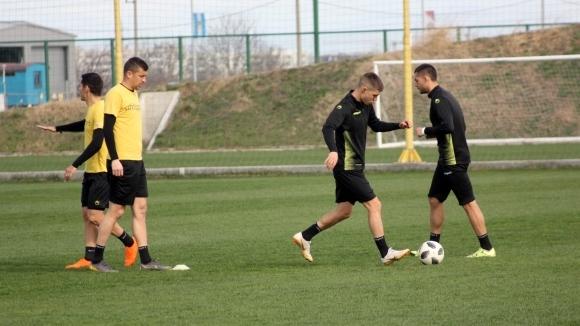 Ботев (Пд) започна подготовка за мача с Ботев (Враца)