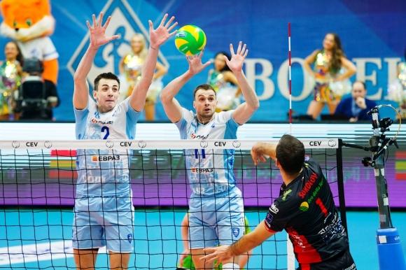 Цецо Соколов избухна с 23 точки, Лубе със страхотен обрат срещу Динамо в 1/4-финал №1 в ШЛ