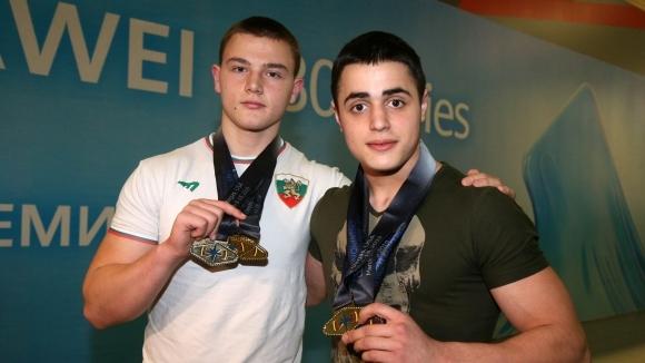 Световните шампиони Карлос Насар и Стефчо Христов се прибраха в България