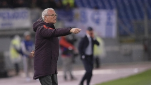 Раниери дебютира с победа начело на Рома