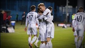 Делев не игра при победа на Погон, изгонен от ЦСКА-София с първи гол в Полша