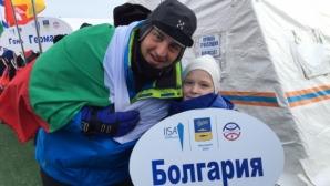 Петър Стойчев с изключителен жест към руската публика на Световното по ледено плуване