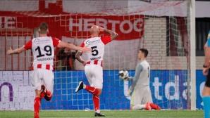 Вижте какво причини този футболист на втория отбор на Аякс (видео)