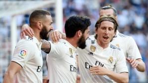 """""""Забравените"""" вдигнаха Реал Мадрид при завръщането на Зизу (видео + галерия)"""