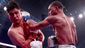 Категоричен Ерол Спенс нанесе първо поражение на Мики Гарсия