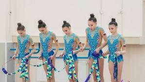 Ансамбълът на България за девойки с бронз на финала на пет обръча в Киев