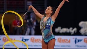 Злато за Катрин Тасева на финала на лента в Киев, завършва с пълен комплект медали