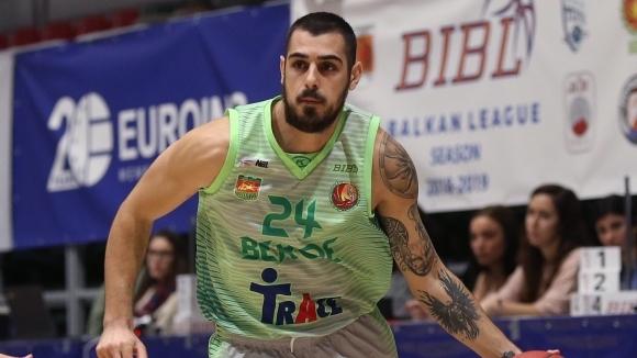 Берое завърши на първо място в редовния сезон на Балканската лига по баскетбол