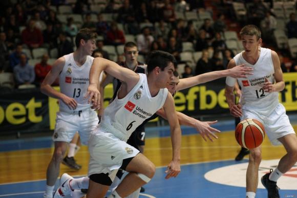 Реал Мадрид с убедителна победа над БУБА Баскетбол на турнира Sofia Cup 2019