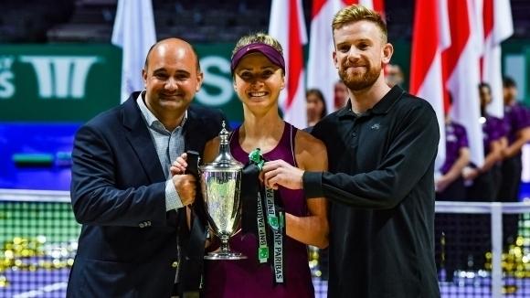 Агентът на Свитолина и Медведев: Идва силно поколение в българския тенис