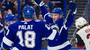 Тампа Бей спечели за пръв път Президентския трофей в НХЛ