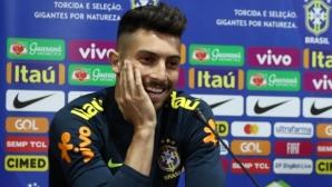 """Бразилски национал очаквал повиквателна от """"Скуадра Адзура"""""""