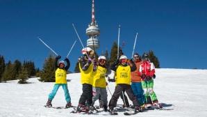 136 деца с първи стъпки в ските и сноуборда на Интерски конгрес 2019