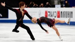 Тарасова и Морозов спечелиха кратката програма при спортните двойки