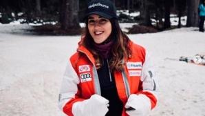 Ева Вукадинова зае второ място в слалома от ДП на Словения