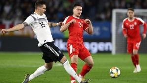 Германия отново не убеди, а в края едва не загуби една от звездите си