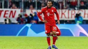 Европейски шампион се оплака, че в Байерн го пренебрегват