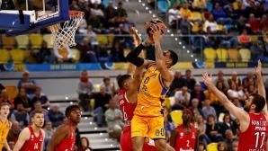 Везенков отбеляза три точки при тежка загуба на Олимпиакос в Евролигата