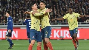 Кейрош дебютира с победа като селекционер на Колумбия